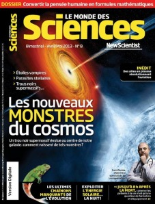 le monde des sciences avril - mai 2013