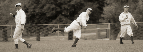Vintage base ball - ©mtstradling sur Flickr
