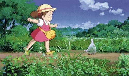 """""""Mon voisin Totoro"""", Hayao Miyazaki, 1988."""