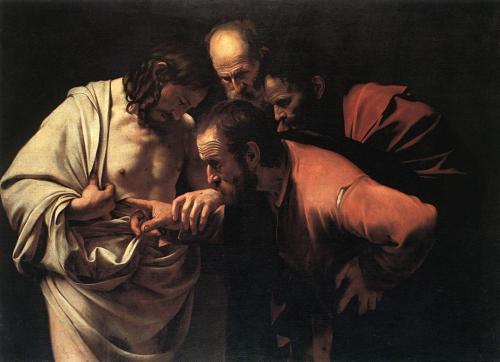 L'Incrédulité de saint Thomas (Le Caravage)
